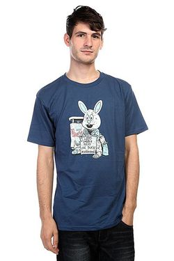Футболка Dc Cliver Bunny Ensign Blue Dcshoes                                                                                                              синий цвет