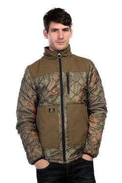 Куртка Dc Convoy Camo Lodge Dcshoes                                                                                                              зелёный цвет