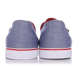 Кеды Кроссовки Низкие Crip Blre Blue/Red Circa                                                                                                              синий цвет