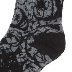 Носки Средние Infest Black/Grey Foundation                                                                                                              черный цвет