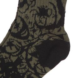 Носки Средние Gigantic Splendor Green/Black Foundation                                                                                                              чёрный цвет