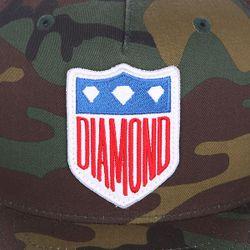 Бейсболка С Прямым Козырьком Liberty Camo Diamond                                                                                                              чёрный цвет