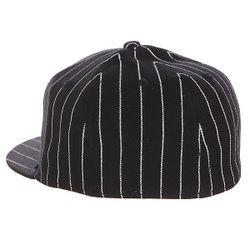 Бейсболка С Прямым Козырьком Pinstriped Stretch Black Flip                                                                                                              чёрный цвет