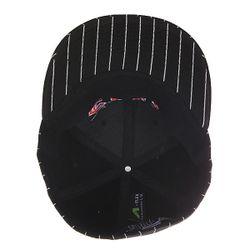 Бейсболка С Прямым Козырьком Pinstriped Stretch Black Flip                                                                                                              черный цвет