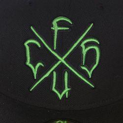 Бейсболка С Прямым Козырьком Csfu New Era Creature                                                                                                              черный цвет