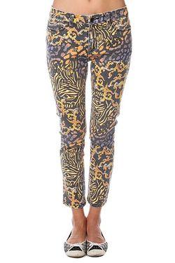 Джинсы Прямые Женские Royal Serpentine Pant Black Insight                                                                                                              многоцветный цвет