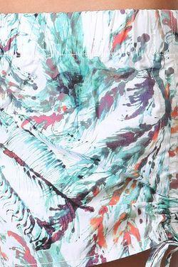 Шорты Пляжные Женские Swim White Insight                                                                                                              голубой цвет