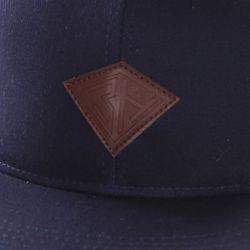 Бейсболка Дефицит Снэп Deep Blue Запорожец                                                                                                              синий цвет