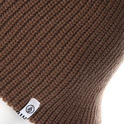 Шапка Носок Mod Beanie Teak Volcom                                                                                                              коричневый цвет