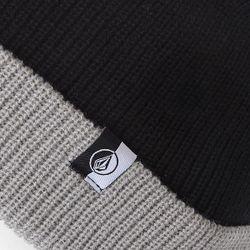 Шапка Носок Sweep Beanie Black/Grey Volcom                                                                                                              чёрный цвет