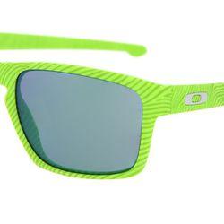 Очки Sliver Retina Burn/Jade Iridium Oakley                                                                                                              зелёный цвет