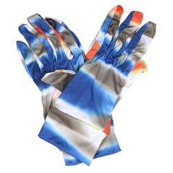 Перчатки Touchscreen Liner Mirage Blue/Grey Burton                                                                                                              синий цвет