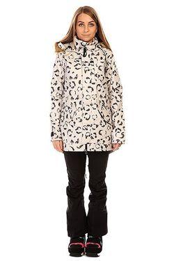 Куртка Женская Twc Wanderlust Jk St White Burton                                                                                                              белый цвет