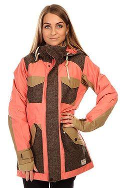 Куртка Женская Wb Prestige Jk Coraline Coloblock Burton                                                                                                              розовый цвет