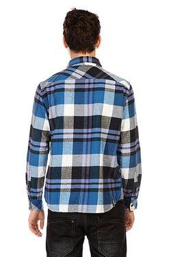 Рубашка В Клетку Blunt Time 2 Ocean Insight                                                                                                              синий цвет