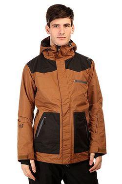 Куртка 180 Switch Classic Jacket Brown Black Romp                                                                                                              чёрный цвет