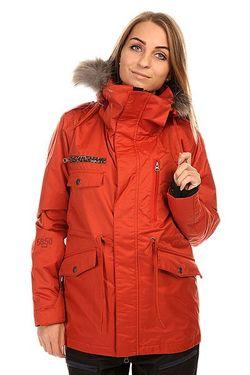Куртка Женская 5050 Grind Wannabe Jacket Dark Romp                                                                                                              оранжевый цвет