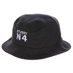 Панама Женская Mesh Bucket Hat Black Stussy                                                                                                              чёрный цвет