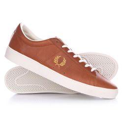 Ботинки Низкие Spencer Full Grain Leather Brown Fred Perry                                                                                                              коричневый цвет
