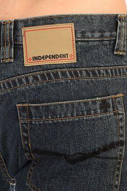 Джинсы Широкие Disrupt Worn Indigo Independent                                                                                                              синий цвет
