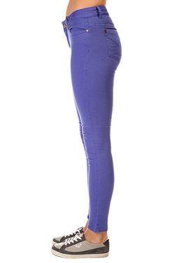 Джинсы Узкие Женские Python Giant Blue Insight                                                                                                              фиолетовый цвет