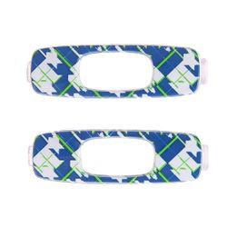 Сменный Логотип Batwolf Icon Retail Pair Blue Oakley                                                                                                              синий цвет