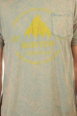 Футболка Mb Grstmll Slim Ss Sea Pine Burton                                                                                                              многоцветный цвет
