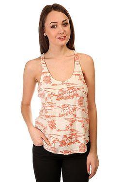 Майка Женская Balboa J Kttp New Islands Roxy                                                                                                              оранжевый цвет