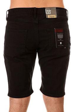Шорты Джинсовые Dc Worker Straight Black Rinse Dcshoes                                                                                                              черный цвет
