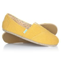Эспадрильи Classic Raw Essentials Yellow-0047 Paez                                                                                                              None цвет