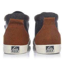 Кеды Кроссовки Высокие Outhaul Tx Black/Denim Reef                                                                                                              синий цвет