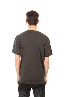 Футболка No Risk Tee Vint Black Globe                                                                                                              серый цвет