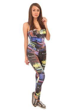 Комбинезон Для Фитнеса Женский Su Legging Black/City CajuBrasil                                                                                                              многоцветный цвет