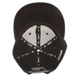 Бейсболка С Прямым Козырьком Машинка Black Запорожец                                                                                                              чёрный цвет