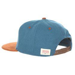 Бейсболка С Прямым Козырьком Просто З Blue Запорожец                                                                                                              синий цвет