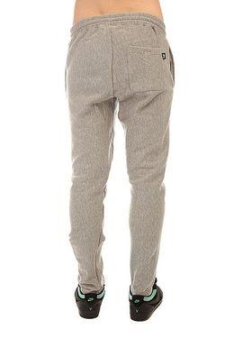Штаны Спортивные Stock Fleece Pant Grey Heather Stussy                                                                                                              серый цвет