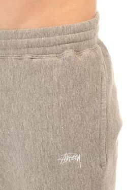 Штаны Спортивные Stock Fleece Pant Grey Heather Stussy                                                                                                              серый цвет