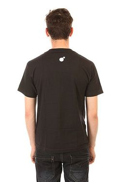 Футболка Forever Bar T-Shirt Black The Hundreds                                                                                                              чёрный цвет