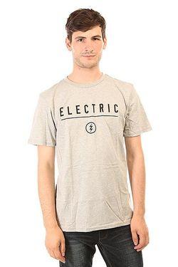 Футболка Corp. Identity Heather Grey Electric                                                                                                              серый цвет