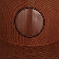 Бейсболка С Прямым Козырьком 04 Skills                                                                                                              коричневый цвет