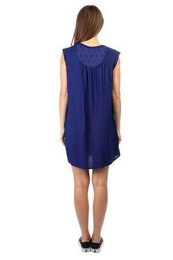 Платье Женское Sun Blue Print Roxy                                                                                                              синий цвет