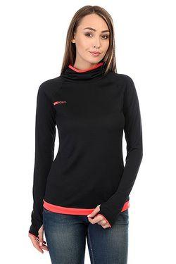 Толстовка Сноубордическая Женская Stretch True Black Roxy                                                                                                              черный цвет