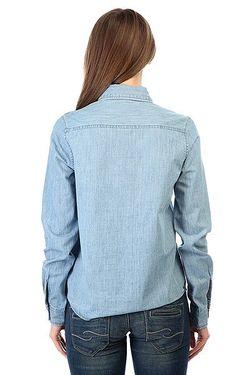 Рубашка Женская Save Light Blue Roxy                                                                                                              синий цвет