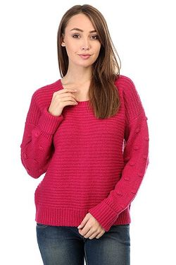 Свитер Rest Sangria Roxy                                                                                                              розовый цвет