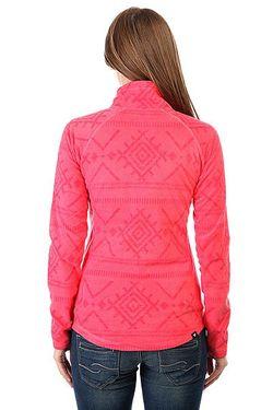 Толстовка Кенгуру Cascade Windy Road Layers Pa Roxy                                                                                                              розовый цвет