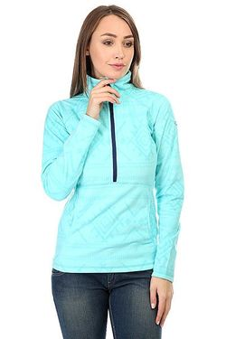 Толстовка Кенгуру Cascade Windy Road Layers Bl Roxy                                                                                                              голубой цвет