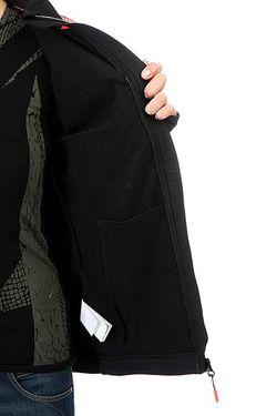 Толстовка Сноубордическая Женская Priscah True Roxy                                                                                                              черный цвет