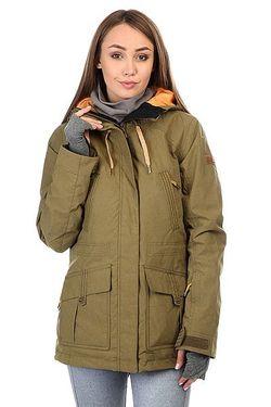 Куртка Tribe Military Olive Roxy                                                                                                              зелёный цвет