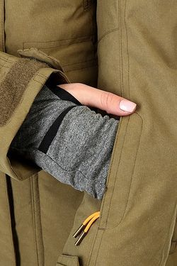 Куртка Женская Tribe Military Olive Roxy                                                                                                              зелёный цвет