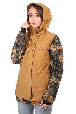Куртка Женская Ceder Bone Roxy                                                                                                              черный цвет